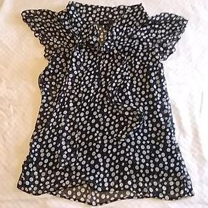 Polka Dot short sleeve top